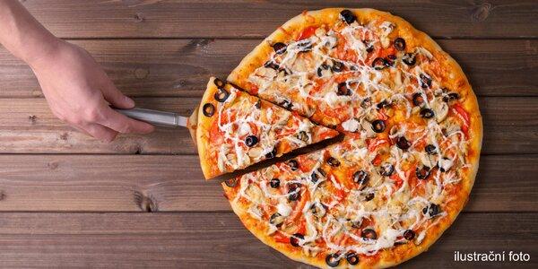 Maníkova pizza: ⌀ 45 cm a výběr ze 25 druhů