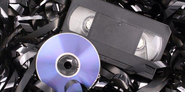 Přepis 120minutového videa z VHS na DVD