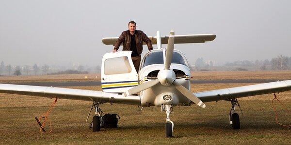 Vzhůru do oblak: vyhlídkový let nad Plzní a okolím