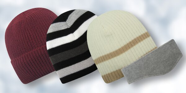 Zimní čepice a čelenky od značky Mess