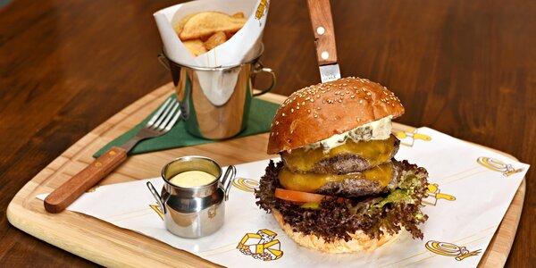 Hamburger výběrem ze 17 druhů u Divoké Šárky
