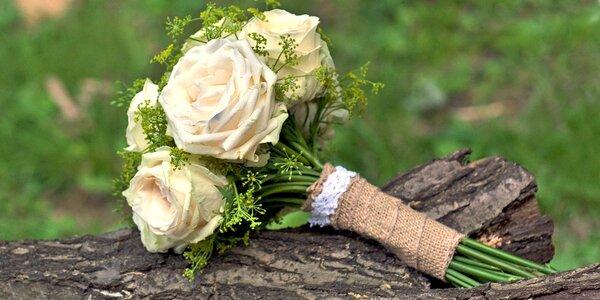 Přírodní kytice z čerstvých květin dle přání