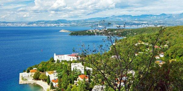 7 nocí na ostrově Krk: 50 m od pláže, polopenze