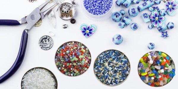 Balíčky skleněných korálků pro všechny kreativce