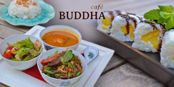 Letní japonsko-korejsko-indonésko-thajské menu pro dva