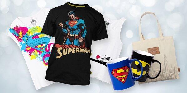 Komiksová tílka, trička, plátěné tašky a hrnky