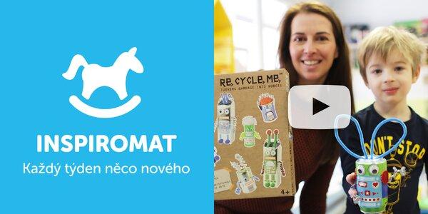 Buďte kreativní: dětské sady Re-cycle-me