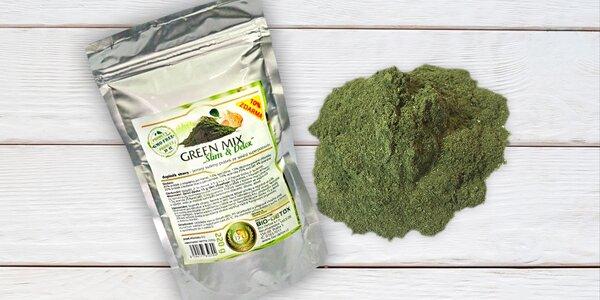 Dejte zdraví zelenou: Green Mix a chlorofyl