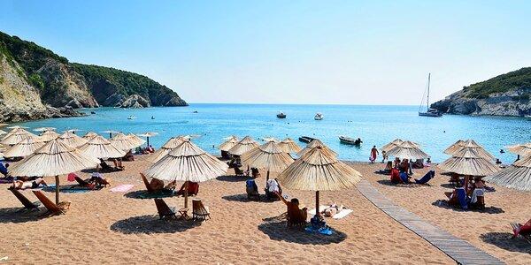 7 nocí v Černé Hoře: 250 m od pláže, plná penze