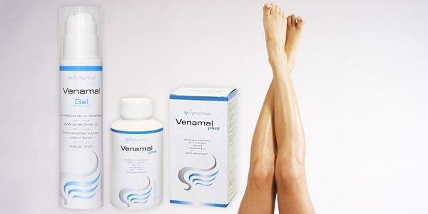 Produkty Venamal: zbavte se pocitu těžkých nohou