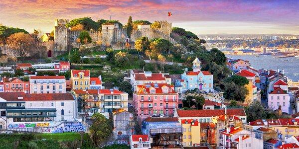 Lisabon letecky: 4* hotel a výlet do Sintry