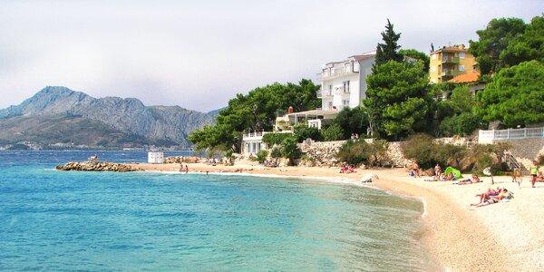 7 nocí v Chorvatsku: 180 m od pláže a polopenze