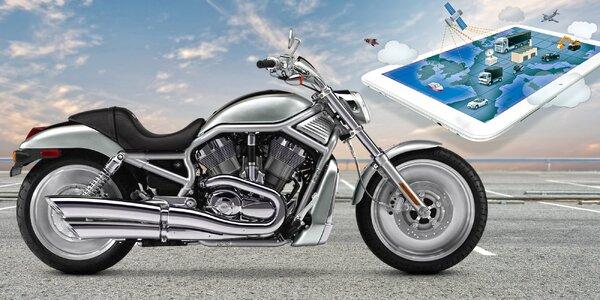 Roční provoz systému, který ohlídá vaši motorku