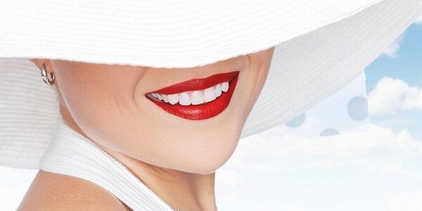 Zářivý úsměv snadno a šetrně: Neperoxidové bělení zubů
