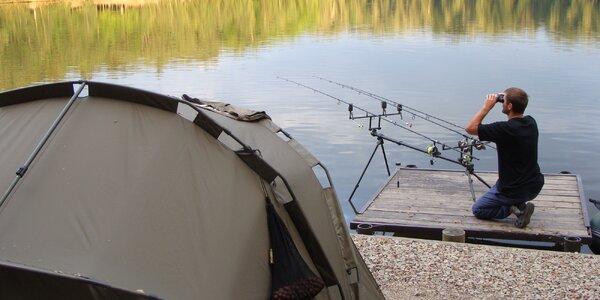 2denní rybaření s povolenkou na pískovně u Prahy
