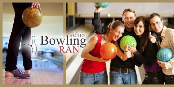 199 Kč za hodinu bowlingu až pro 6 hráčů v Bowling RAN clubu V Celnici!