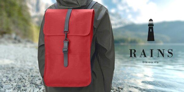 Nepromokavé a elegantní batohy RAINS