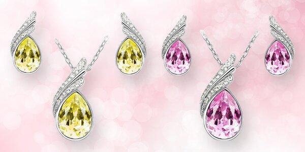 Elegantní sada šperků s rakouskými krystaly