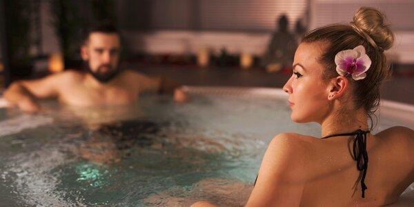 Wellness pro 2: vířivka, sauna i parní lázeň