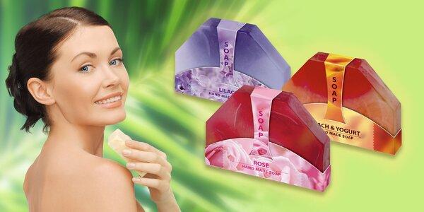 Glycerinová ručně vyráběná mýdla