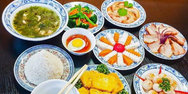 Grilovaná kachna a jiné vietnamské speciality