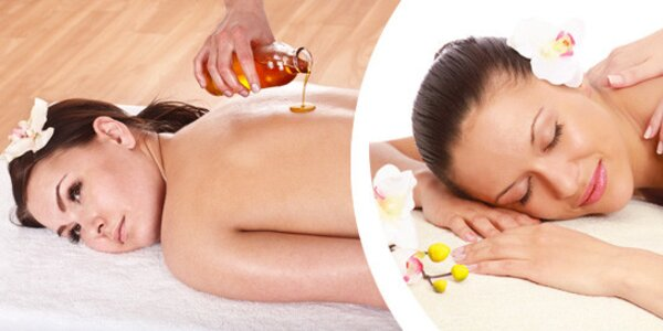 Celotělová havajská masáž