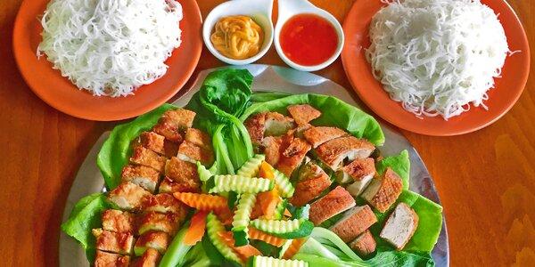 Japonský tác s 3 druhy masa pro 2-4 jedlíky