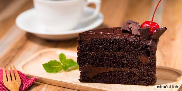 Káva a domácí dezert dle výběru pro 1 nebo 2