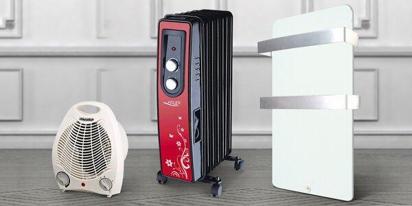 Praktické přenosné radiátory a přímotopy