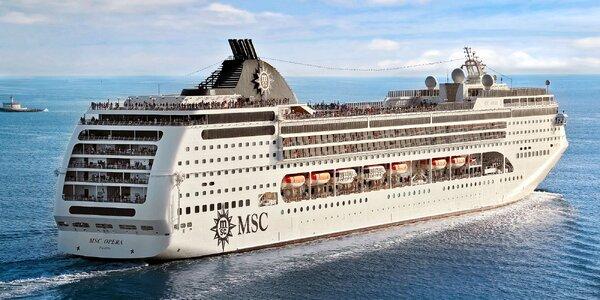 Záloha na plavbu Středomořím na luxusní lodi