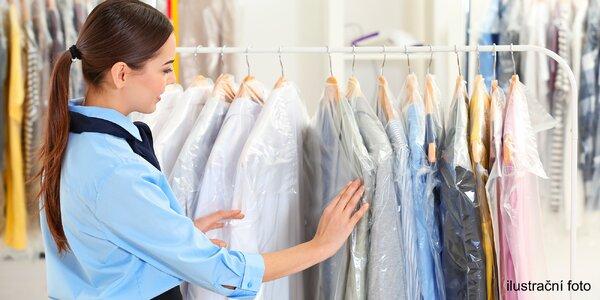 Čištění oděvů, batohů, kočárků, koberců i jiné