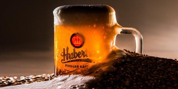 Prohlídka pivovaru Kácov s degustací i svačinou
