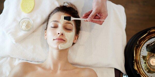 Kosmetické ošetření dle výběru podle typu pleti