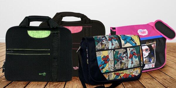 Dětské licenční tašky na notebook i přes rameno