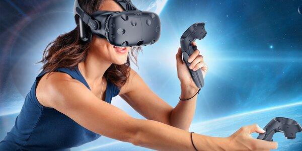 1 nebo 2 hod. ve virtuální realitě s HTC Vive