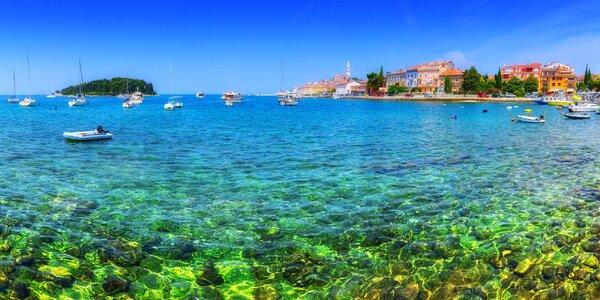 1denní víkendové koupání u moře na Istrii