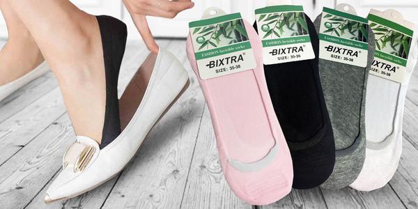 Ponožky do balerínek nebo nízkých tenisek