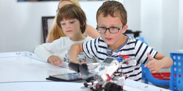 Jedna zkušební lekce robotiky pro děti