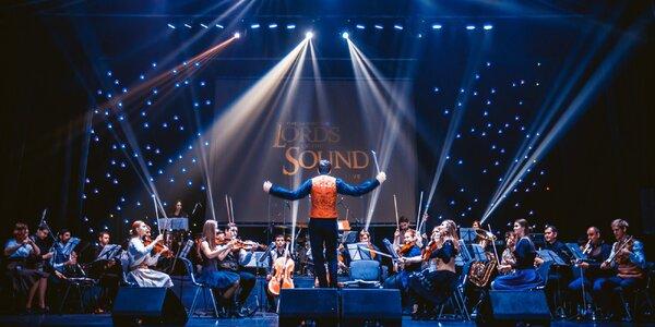 Vstupenka na show orchestru Lords of the Sound