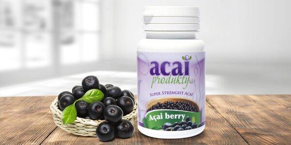Acai berry pomáhá hubnout i držet nemoci od těla: balení se 30 či 120 tabletami