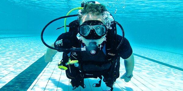 Na 45 min. potápěčem během ponoru na zkoušku