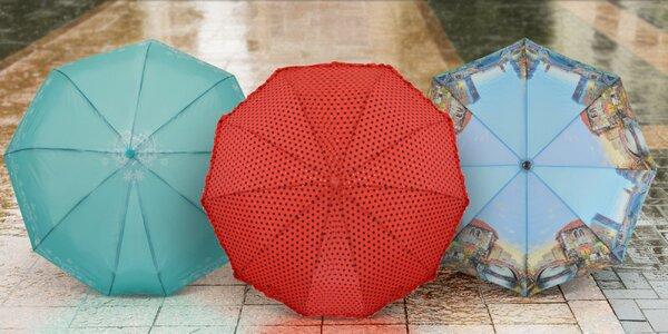 Velký výběr deštníků