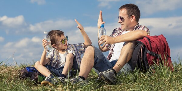 Víkendový kurz pro otce a syny plný zážitků