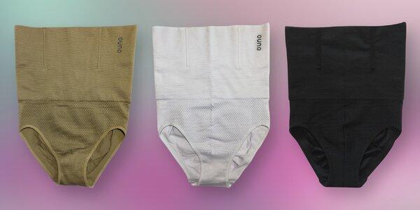 Stahovací spodní prádlo: černé, bílé i tělové