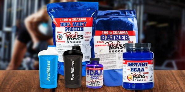Balíček doplňků stravy pro nárůst svalové hmoty