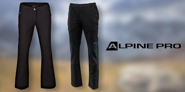 Dámské a pánské softshellové kalhoty Alpine Pro