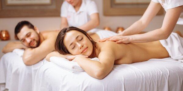 60minutový odpočinek: výběr z párových masáží