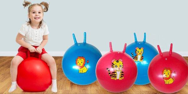 Skákací míče pro zábavu i zdravý vývoj dětí