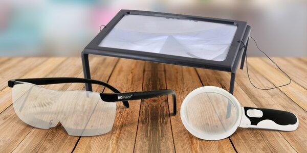 Zvětšovací brýle a lupy na čtení