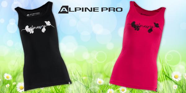 Dámská bavlněná tílka Alpine Pro